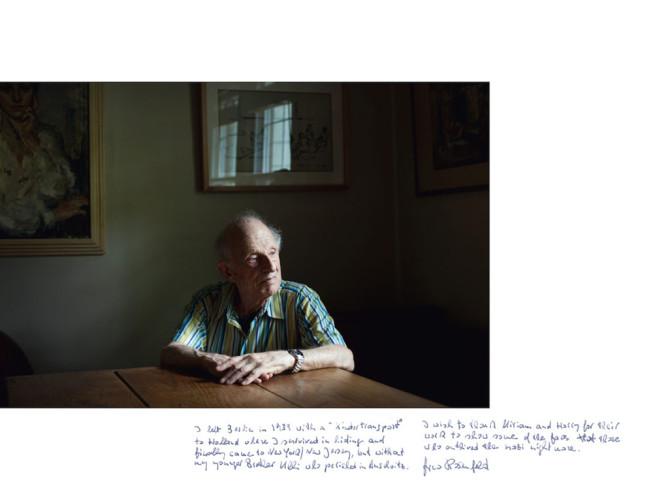 Holocaust Survivor Arno Roland