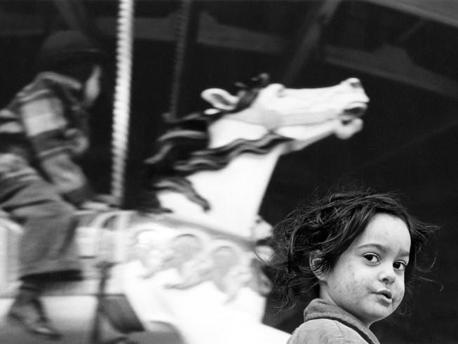 Gypsy Girl and Carousel, 1946
