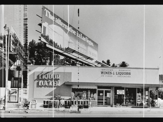 Liquor Locker (Sunset Strip Portfolio) 1976/1995 by Edward Ruscha born 1937